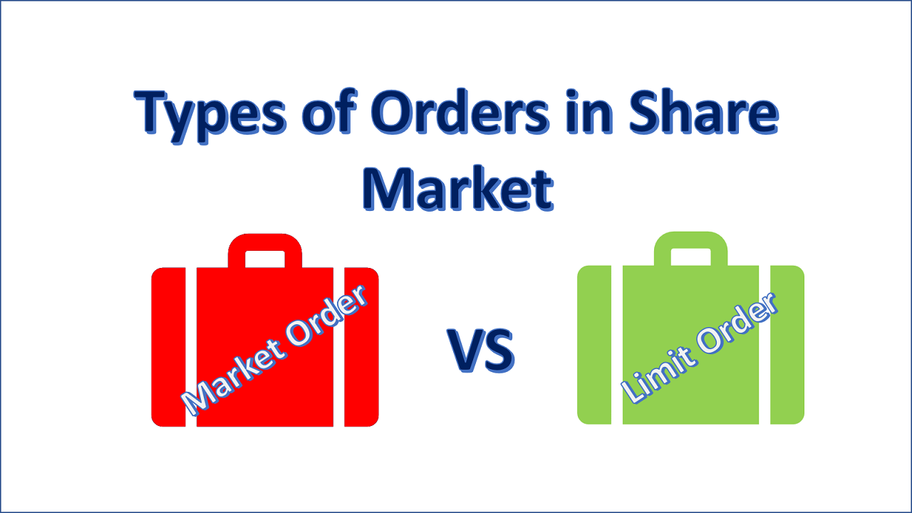 Types of Orders in Share Market
