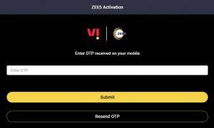 Enter OTP - Zee5
