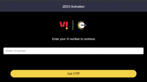 Get OTP - Zee5